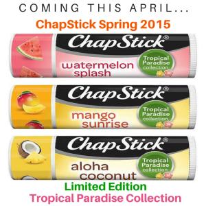 chapstick spring 2015