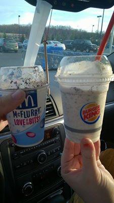 The Oreo McFlurry VS the Burger King Oreo Shake – ThingsInReview